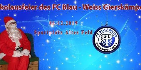 Nikolausfeier des FC BW Gierskämpen