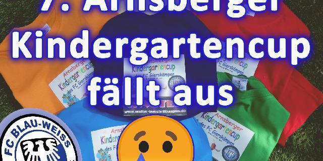 7. Arnsberger Kindergartencup fällt aufgrund COVID-19…